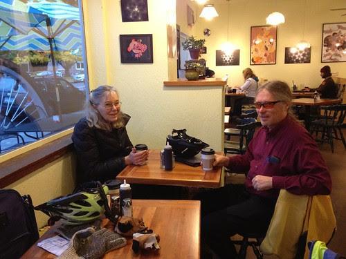 Coffeeneur #6, Cyndi and Michal