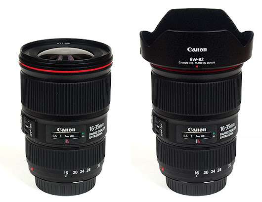 Canon EF 16-35mm f/4 USM L IS - Review / Lens Test Report