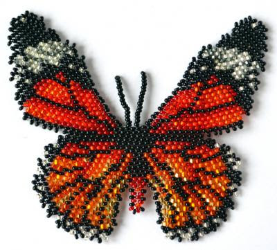 Butterfly Danaus Genutia | Bead-Patterns