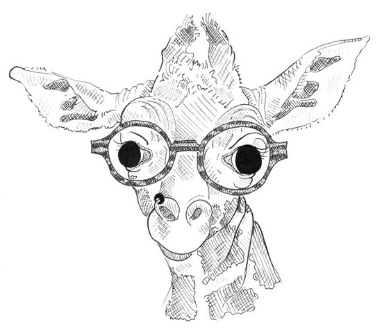 Cute Giraffe Drawing Tumblr At Getdrawingscom Free For Personal