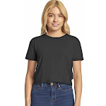 Next Level N5080 Ladies Festival Cali Crop T-Shirt Black
