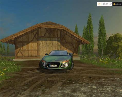 AUDI R8 V10 SPYDER TUNING CAR V 1.0   Farming Simulator 2017 mods, Farming Simulator 2015 mods