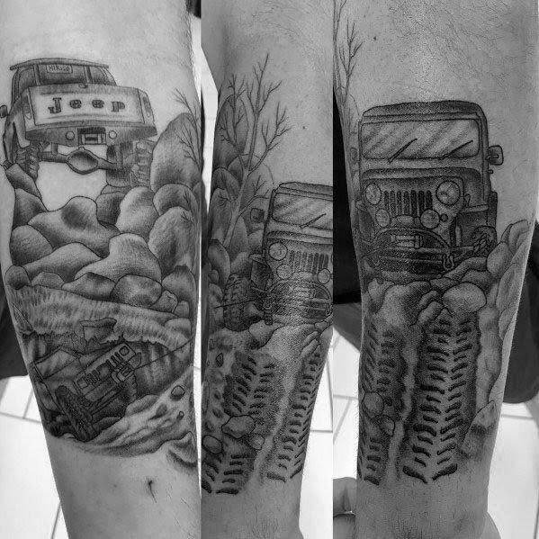 Desenhos de tatuagem Jeep