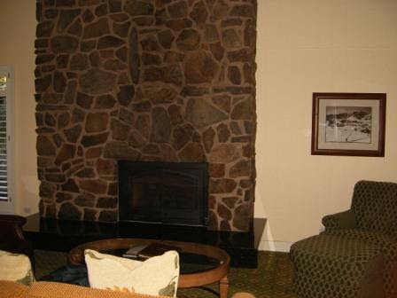 Fireplace in My Sun Valley Apartment