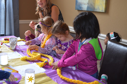 J's Tangled Birthday Party Part II: Party Time