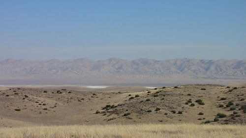 carrizo plain salt flats