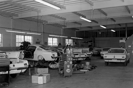 Throwback Tuesday: A look Inside Carroll Shelby's Then-New Shop - Hot Rod Network