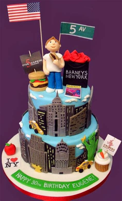 New York City Cake Designs   NYC, Style & a little Cannoli