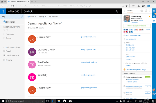 Nimble Smart Contacts App – Now on Microsoft Edge | The Nimble Blog