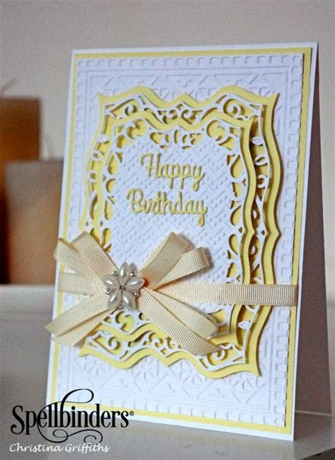 1007 best Cards   Spellbinders images on Pinterest