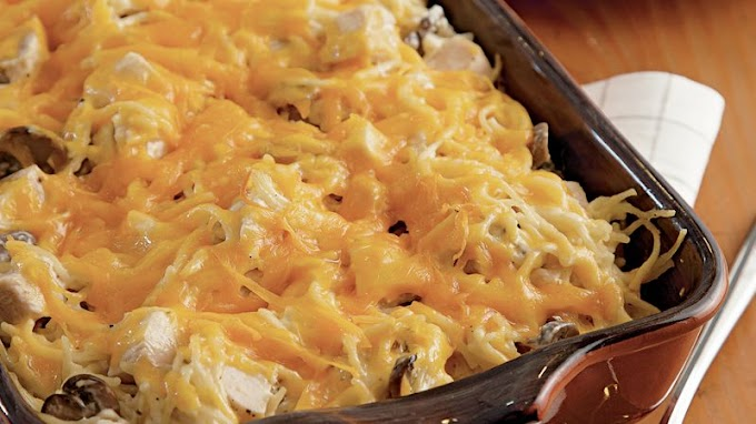 Beautiful Recipes Chicken Tetrazzini