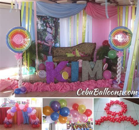 Candyland Theme Debut Balloon Setup at GV Tower Hotel