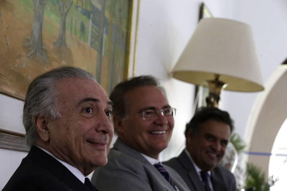 Se Michel Temer assume presidência, já tem ministros definidos