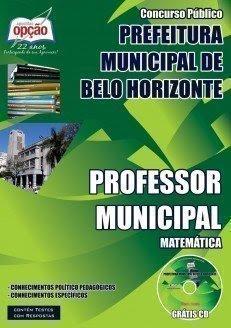 Apostila Concurso PBH Professor Municipal - belo Horizonte.
