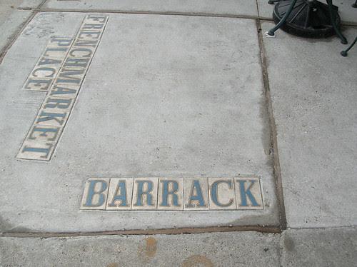 Barrack(s) street