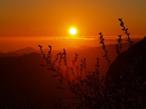 puesta  de  sol,sunset