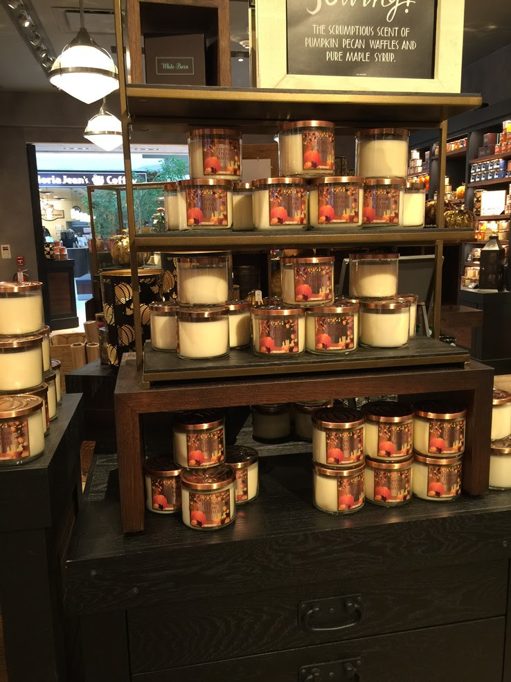 White Barn Fall 2016 Candles in Store - Musings of a Muse
