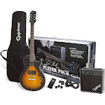 Epiphone Les Paul Special II Player Electric Guitar Package, Vintage Sunburst