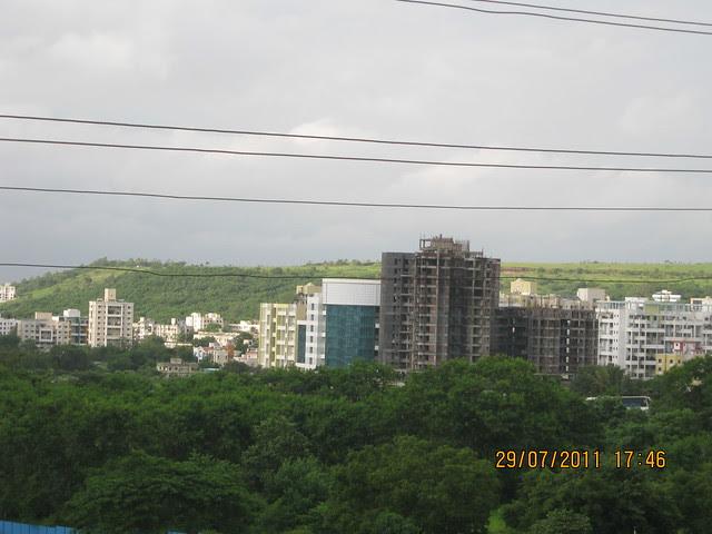 Bavdhan Khurd - Visit to Paranjape Schemes' Gloria Grace, 2 BHK & 3 BHK Flats, at Bavdhan, on Paud Road, Kothrud Annexe, Pune