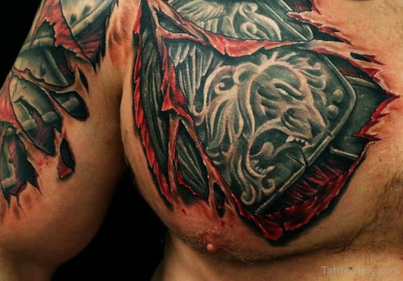 Armor Tattoo On Chest Tattoo Designs Tattoo Pictures