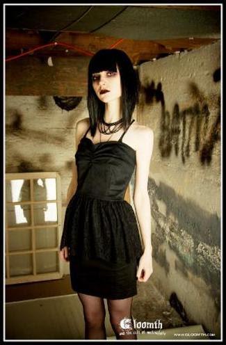 gothic haircut cabelo gotico maquiagem gotica