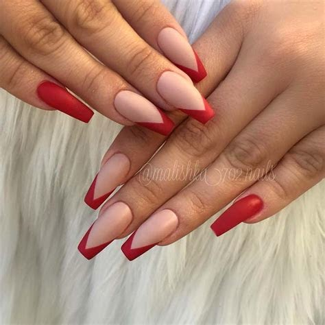 5 french nail designs ballerina 2020  ez nail designs