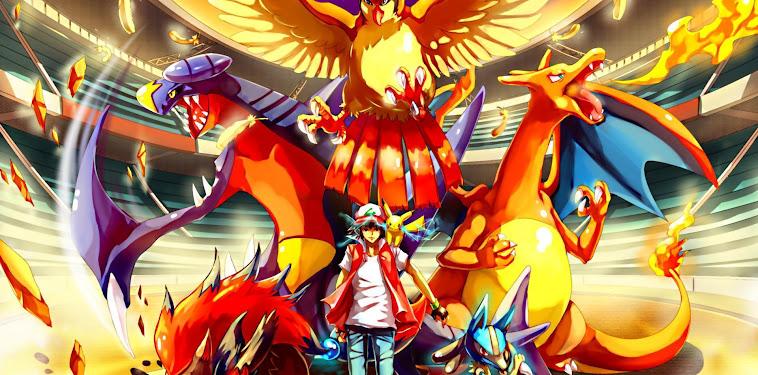 Pokemon Red Wallpaper