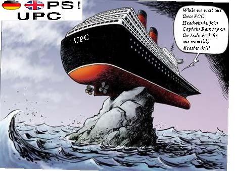 UPC boat