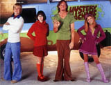 Scooby gang: Never as good as the cartoons