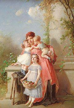 Lanfant Mother and children