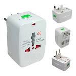 AllTopBargains Multi Converter Universal Travel Wall Charger Adapter Power Plug AU/UK/US/EU New