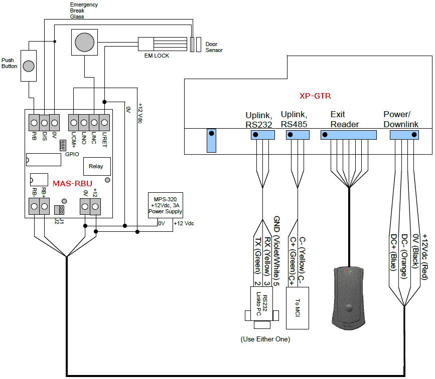 Break Glass Wiring Diagram