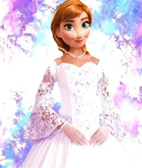 "Anna in wedding gown   Disney's ""Frozen""   That's A Whole"