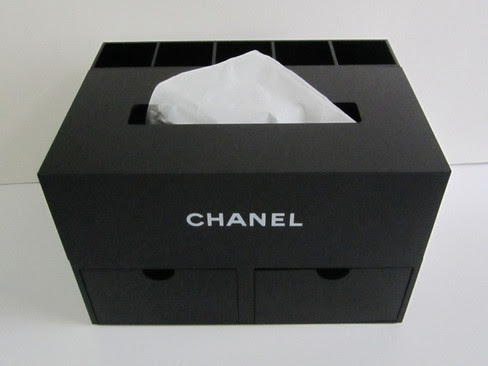 CHANEL Jewelry Box with Tissue Box and Compartments VIP Limited Gift
