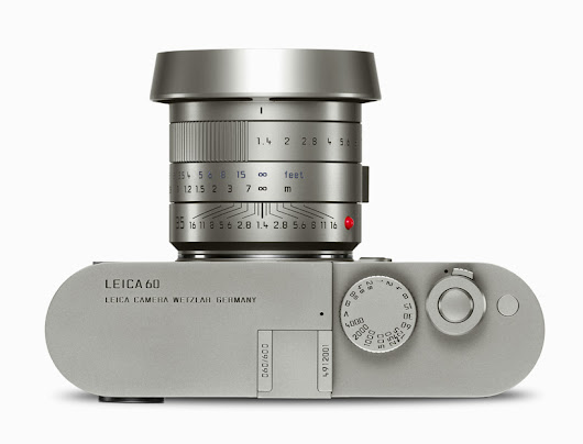 leica M edition 60 designed by AUDI brings photography back to its roots - designboom | architecture & design magazine