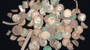 Viking silver coins