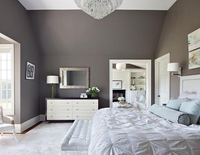 Wandfarben im Schlafzimmer- 105 Ideen für schöne Nächte
