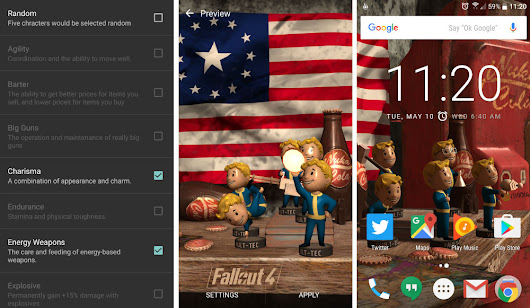 NVIDIA and Bethesda Launch Fallout 4 Live Wallpaper, Filled With Bobbleheads | Droid Life