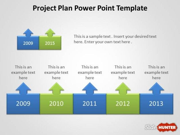 9037 project plan powerpoint template 6 627x470