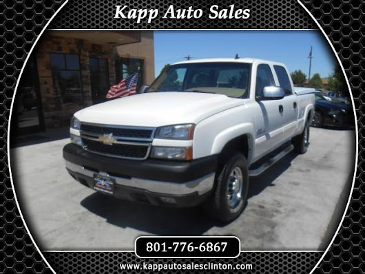 Used 2007 Chevrolet Silverado Classic 2500HD LT1 Crew Cab 4WD for Sale in Clinton UT 84015 Kapp Auto Sales