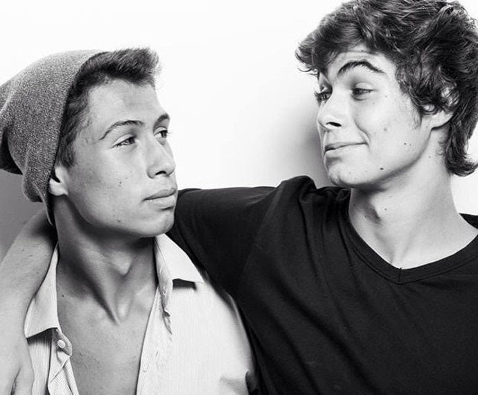 Francisco e Rafael Vitti: irmãos em sintonia (Foto: Arquivo pessoal)