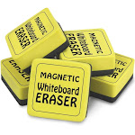 Magnetic Whiteboard Erasers 12Pk 2Inx2In - The Pencil Grip