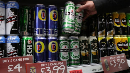Weekly alcohol limit 'could cost £2.52' says Alcohol Focus Scotland - BBC News