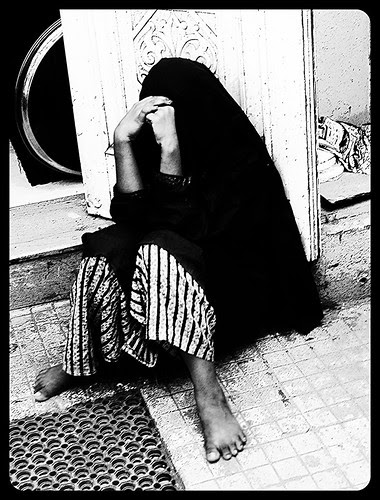 Outside Gods House She Waits .. by firoze shakir photographerno1