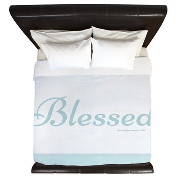 Blessed Saying King Duvet