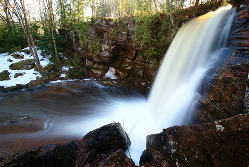 Middle Hungarian Falls by dcclark