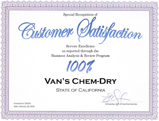 Carpet Cleaning in Sacramento | Why Van's Chem-Dry?