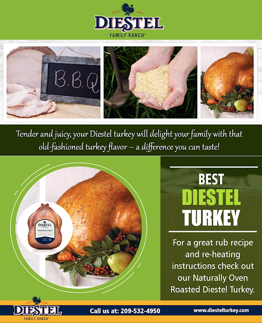 Thanksgiving Diestel Turkey - Roast Turkey