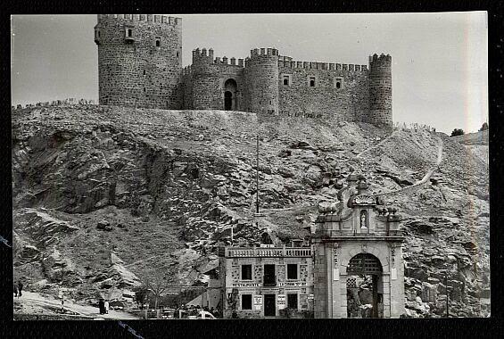 Castillo de San Servando hacia  1958. Foto Dominguez