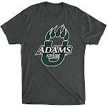 Official NCAA Adams State University Grizzlies - PPASU01, G.A.6010, V_BLK, M Size Medium Vintage Black
